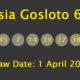 Russia Gosloto Evening Results, 01/04/2018: 1 Division 2 winner