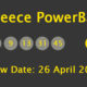 Greece Powerball Results and Payouts on Thursday, 26 April 2018