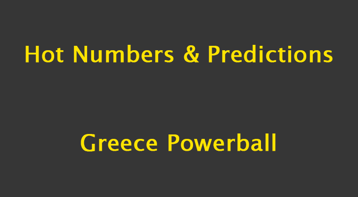 Greece Powerball Predictions