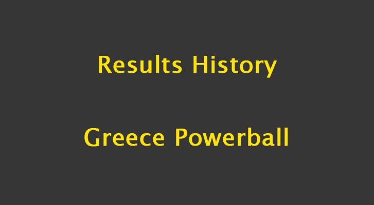 Greece Powerball