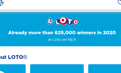 France Lotto reports 'more than 625,000 winners in 2020'