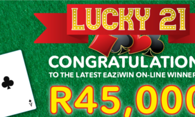 Ithuba congratulates 'the latest EAZiWIN online winner'